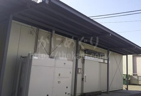 北釧水産の冷凍庫