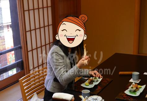 京都祇園「岩元」の個室