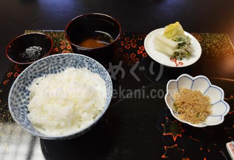京都祇園「岩元」の釜ご飯と香の物