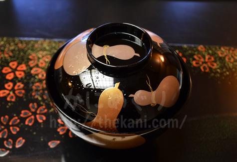 京都祇園「岩元」のお椀