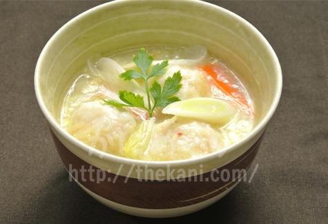 カニ団子のスープ