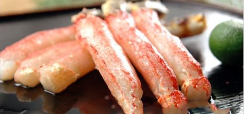 浜海道の生冷凍タラバガニ