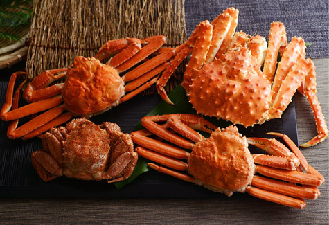 北国からの贈り物「特選蟹三昧セット」