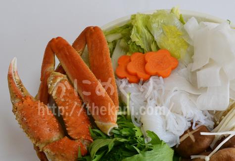 カニ鍋の食材