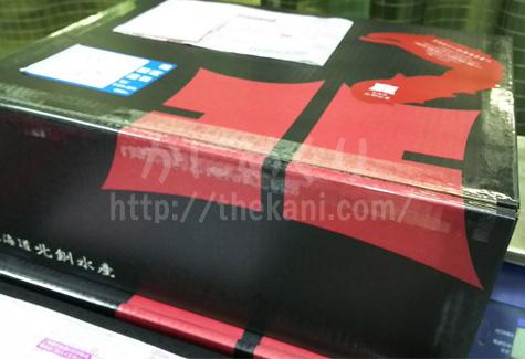 北釧水産のカニ商品段ボール包装