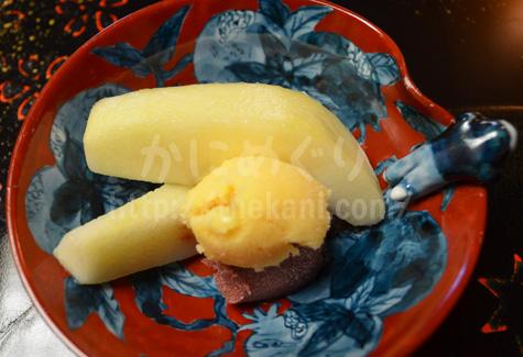 京都祇園「岩元」のデザート