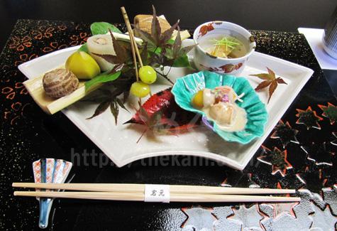 京都祇園「岩元」の八寸