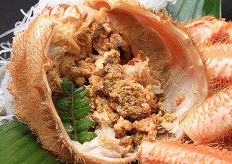 毛ガニの味噌