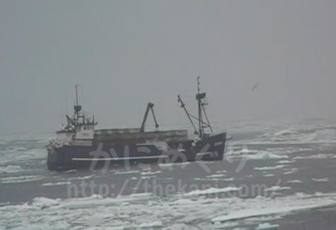 アラスカのベーリング海