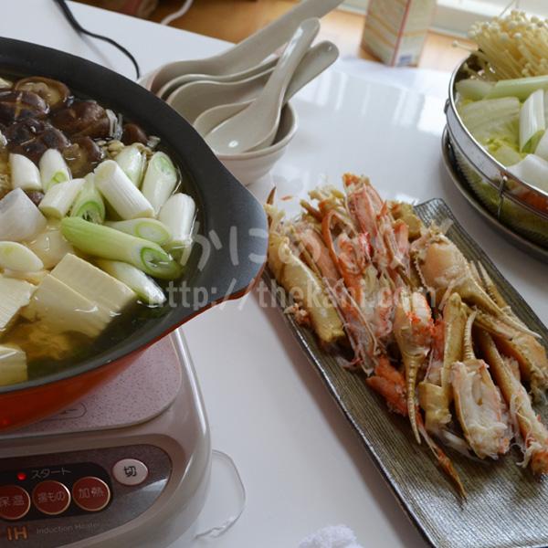 【クリスマスはカニ鍋】開封して失敗だと思ったカニは、鍋にしたら意外と美味しい