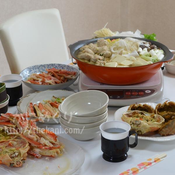 【正月はカニパーティー】カニしゃぶが人気すぎて、鍋を3つも用意