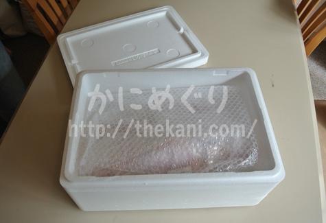 北釧水産から届いた蟹